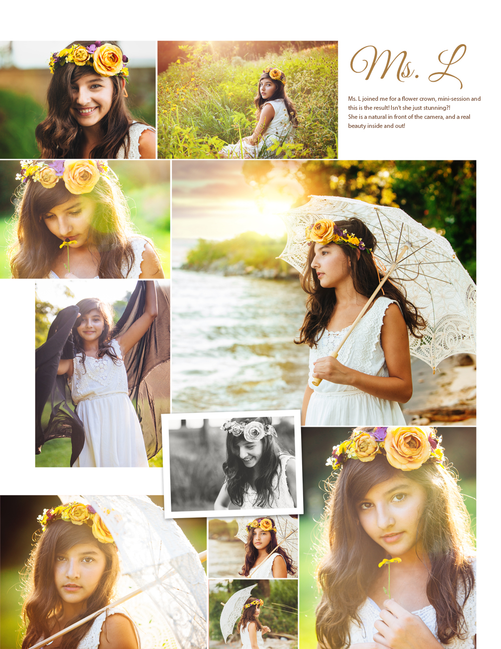 Flower Crown Mini Ms L Northern Virginia Photographer