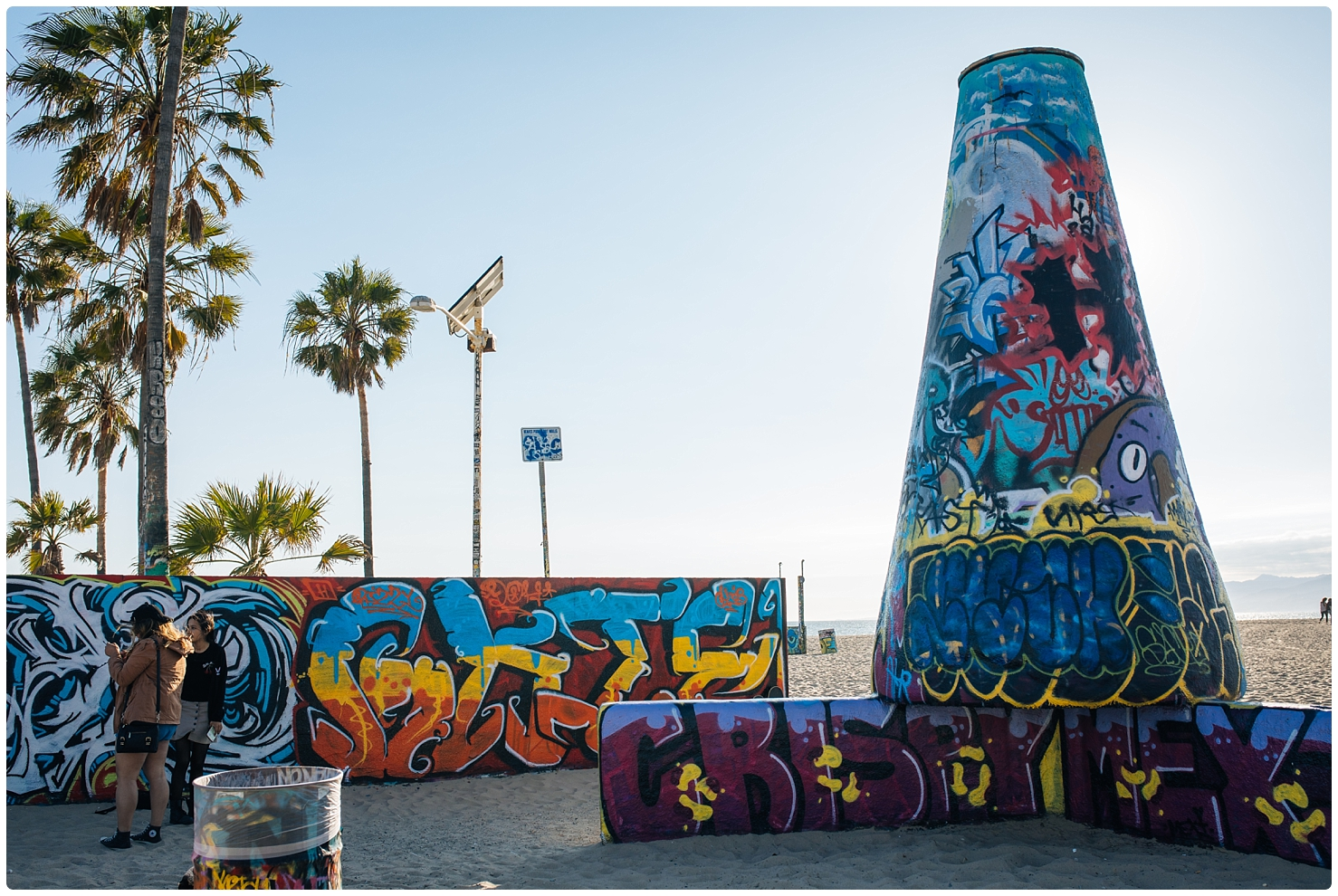 Beach,Boardwalk,California,Venice,Venice Beach,graffiti,haylo photo,haylo photography,northern virginia photographer,